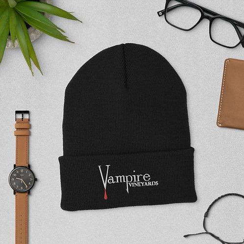 Vampire Beanie Black