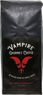 VAMPIRE COFFEE - Nocturnal French Roast  (Whole Bean)
