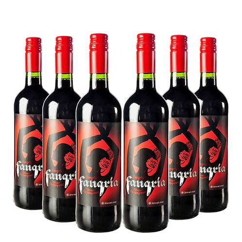 FANGRIA® SANGRIA SIX BOTTLE PARTY SET