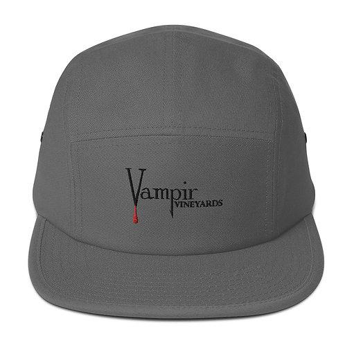 Vampire Five Panel Cap Grey