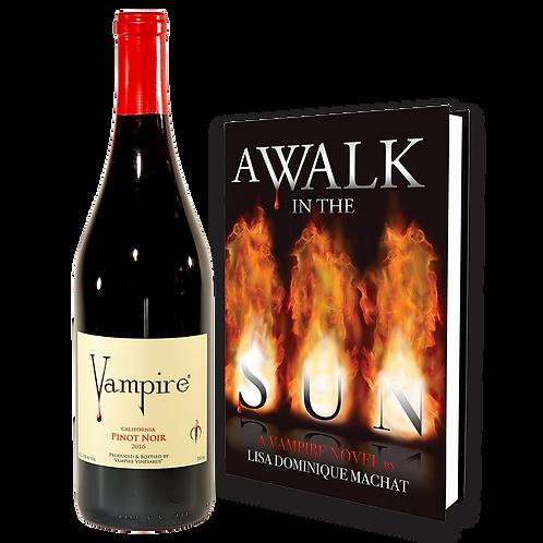 VAMPIRE® PINOT NOIR  & A WALK IN THE SUN COMBO