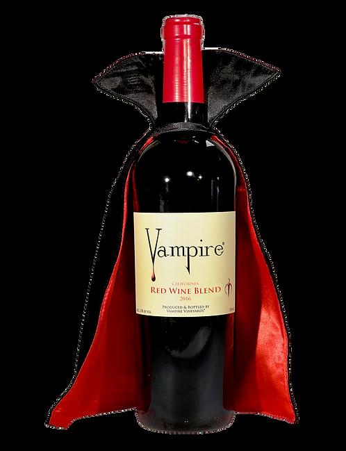 VAMPIRE® RED WINE BLEND With Vampire® Wine Cape