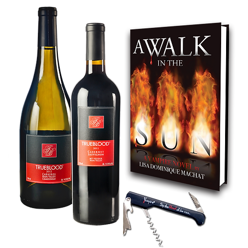 WINE LOVER'S & READER'S GIFT SET