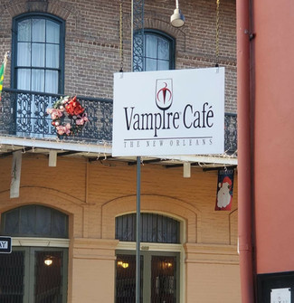 Join us at the New Orleans Vampire Café