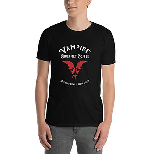 Vampire Gourmet Coffee T-Shirt Unisex Black
