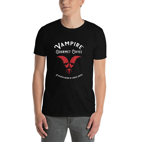 Vampire Gourmet Coffee T-Shirt Unisex Black