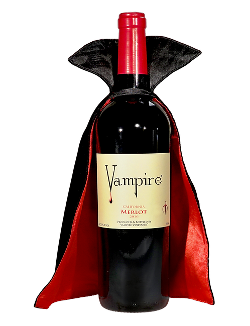 VAMPIRE® MERLOT With Vampire® Wine Cape