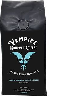 VAMPIRE COFFEE - Brazil Ipanema Dulce  (Fine Ground)
