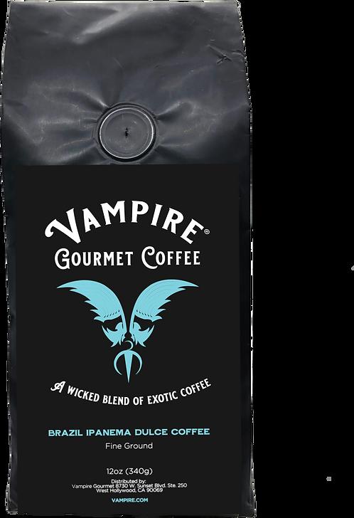VAMPIRE COFFEE - Brazil Ipanema Dulce  (Fine Ground)