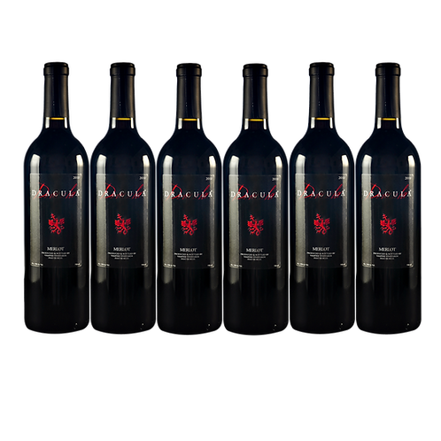DRACULA® MERLOT 6 BOTTLE CASE
