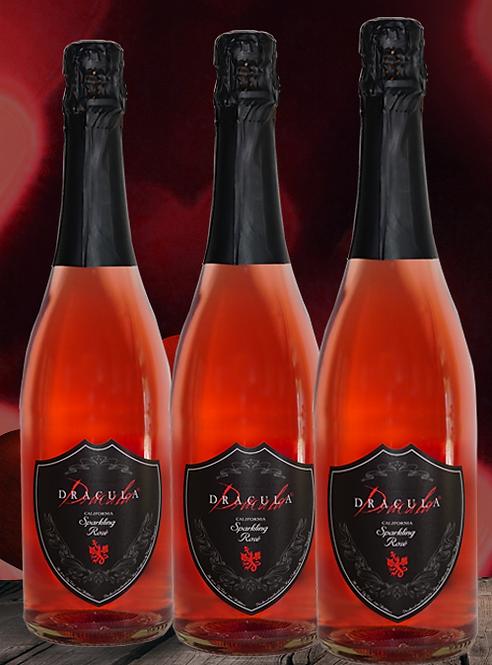 DRACULA® SPARKLING ROSÉ 3 PACK