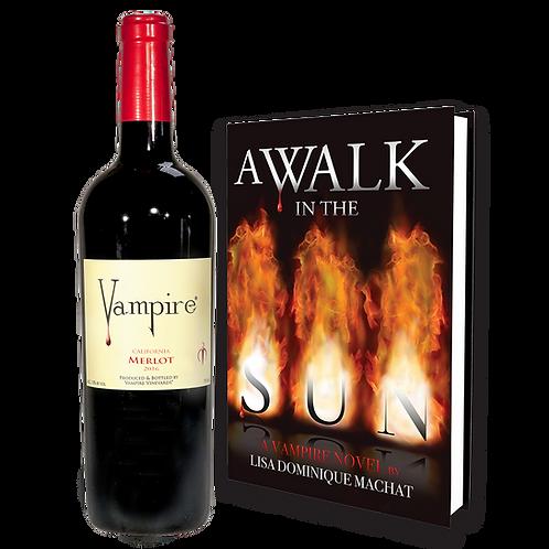 VAMPIRE® MERLOT & A WALK IN THE SUN COMBO