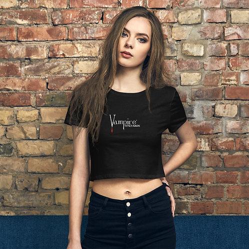 Vampire Women's Crop T Black