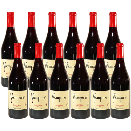 VAMPIRE® PINOT NOIR 12 BOTTLE CASE
