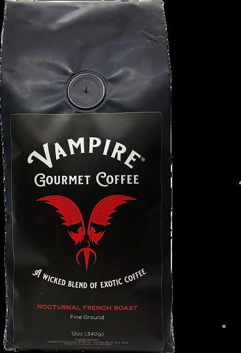 VAMPIRE COFFEE - Nocturnal French Roast (Fine Ground)