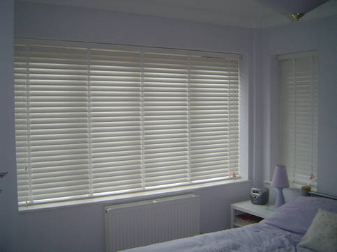 Wooden Slatted Blind
