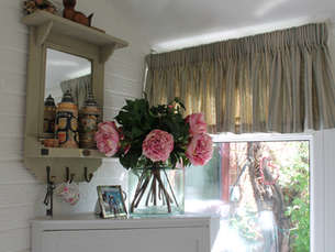 Conservatory Window Dressing