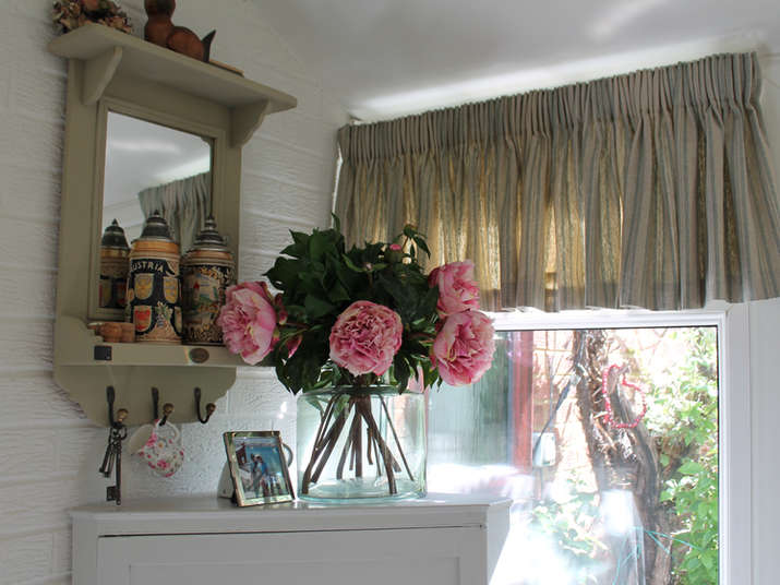 Conservatory Window Dressing