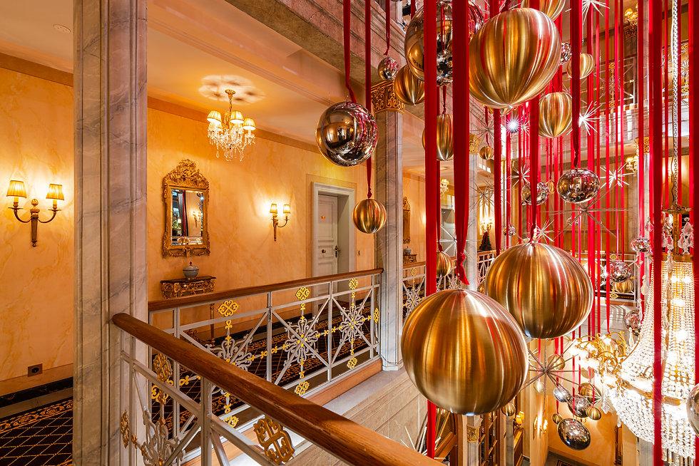 Location | Weihnachtsdeko | Grand Hotel Les Trois Rois