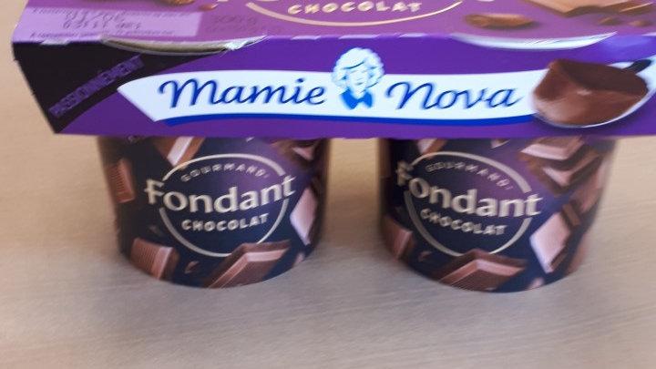 Desserts crème chocolat noir MAMIE NOVA