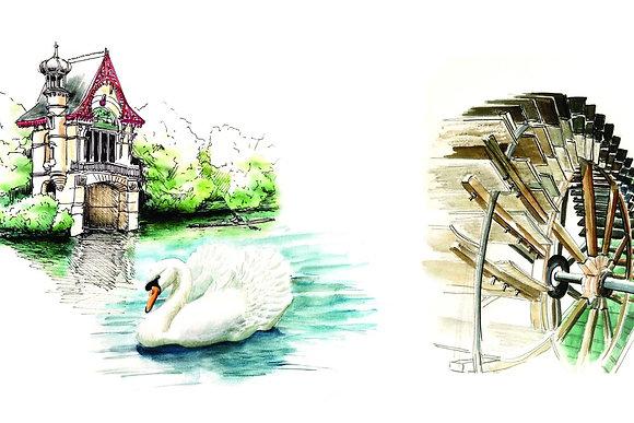 MASQUE OLIVET-ILLUSTRATION D'ANAIS GROISY