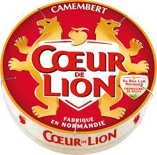 Camembert pasteurisé coeur de lion