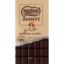 Chocolat à cuire Nestlé