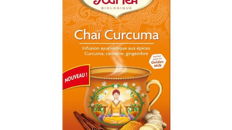 Chai curcuma Bio - 17 sachets