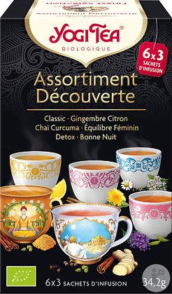 Yogi Tea Organic Finest Sélection Infusion 18 Sachets