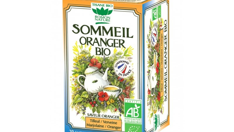Tisane Sommeil Oranger Bio - 20 sachets