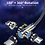 Thumbnail: Cabo Magnético de Carregamento 540o USB