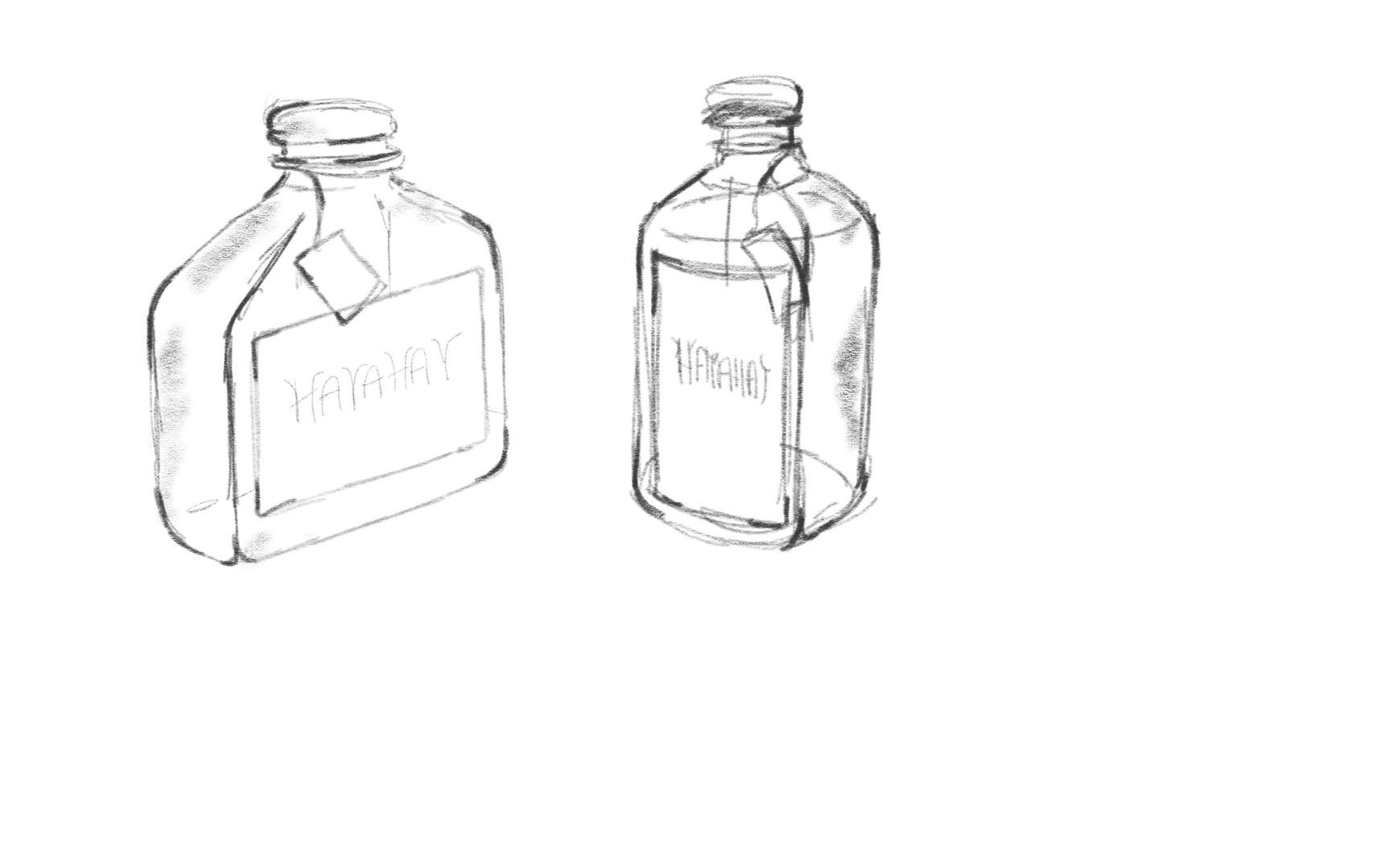 Bottle Sketch
