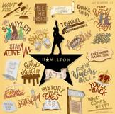 Hamilton Act 1 Song Drawing