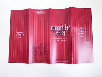 Broadway Bash Brochure