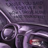 drivers license — Olivia Rodrigo Illustration