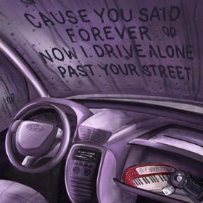 drivers license — Olivia Rodrigro Illustration
