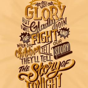 The Story of Tonight — Hamilton Musical Lyric
