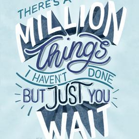 Just You Wait — Hamilton Musical Lyric