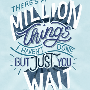 Just You Wait — Hamilton Musical Lyric