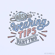 Mask Wearing Tips Part 2