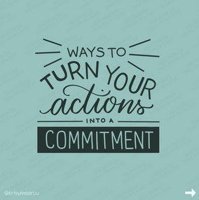 Actions to Commitment Slide 1