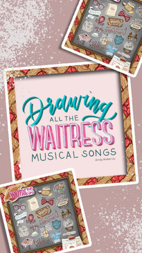 Waitress Musical Drawing Timelapse