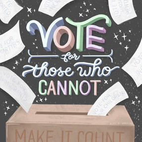 Vote For Those Who Cannot