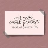 If You Can't Protest Carousel