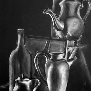 Bottles Drawing