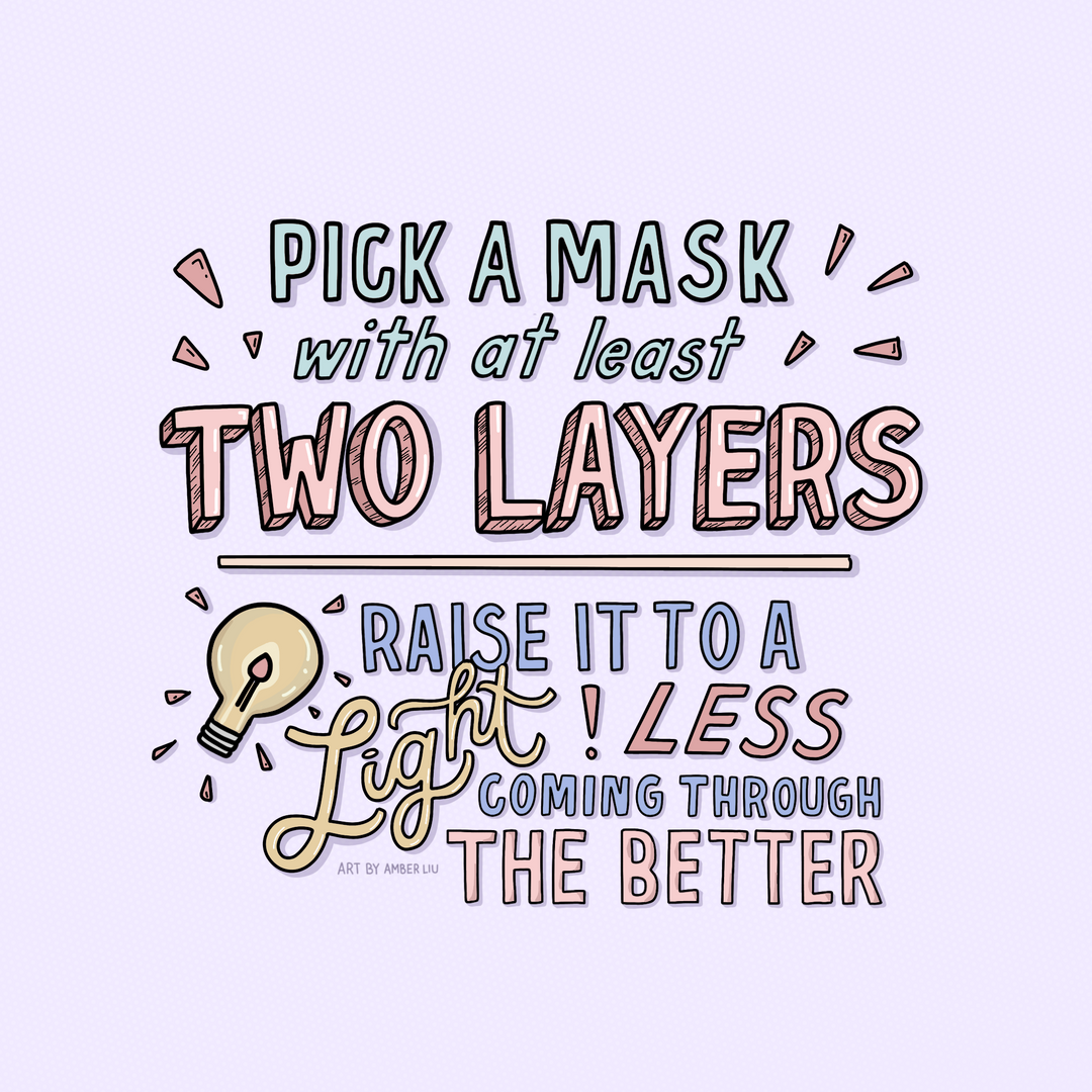 Reminders for When Wearing Masks Slide 4