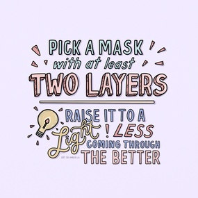 Reminders for When Wearing Masks Slide 4