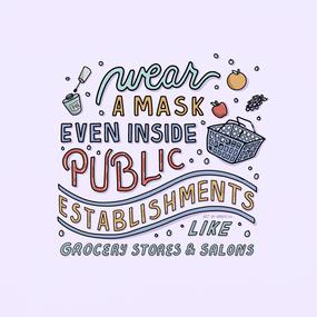 Reminders for When Wearing Masks Slide 7
