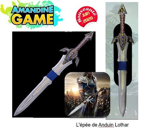 Epée de Anduin LOTHAR - World of Warcraft - Réf: W6016-ST