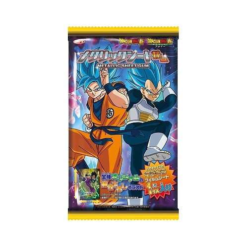Metalic Sheet Gum – Dragon Ball